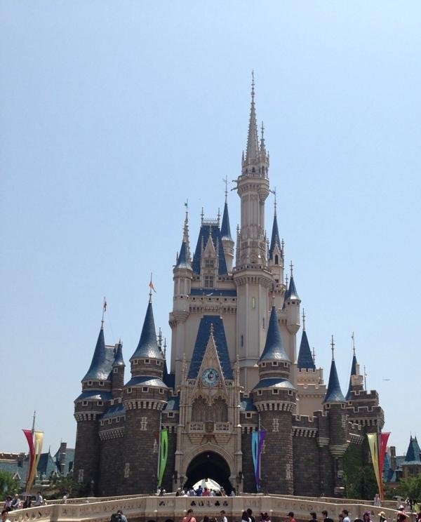 Go to Disney Land with school uniform.