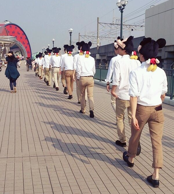 Go to Disney Land.