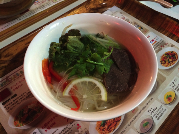 ベトナム麺料理のフォー
