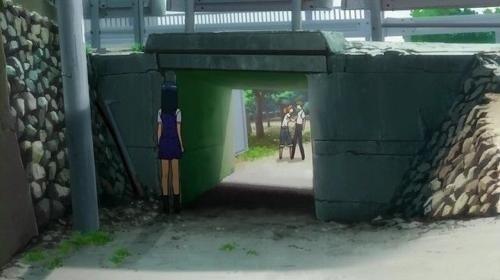 けやき公園のアニメのシーン