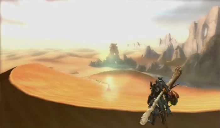 新マップ『砂漠』のイメージ図