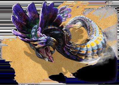 水蛇竜 ガララアジャラ亜種