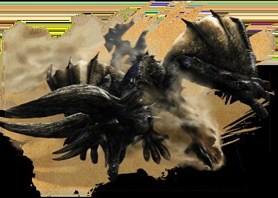 ディアブロス&黒角竜 ディアブロス亜種