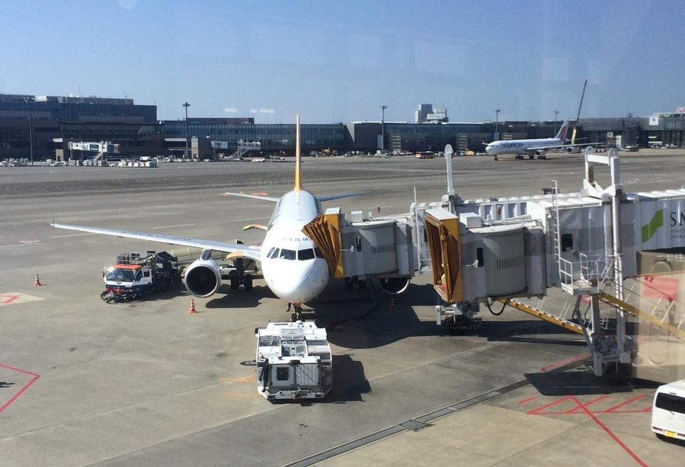 セブパシフィックの飛行機は小さかった
