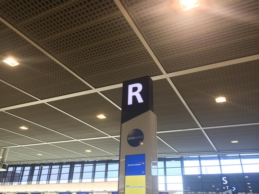 成田空港のセブパシフィックの出国手続きゲート