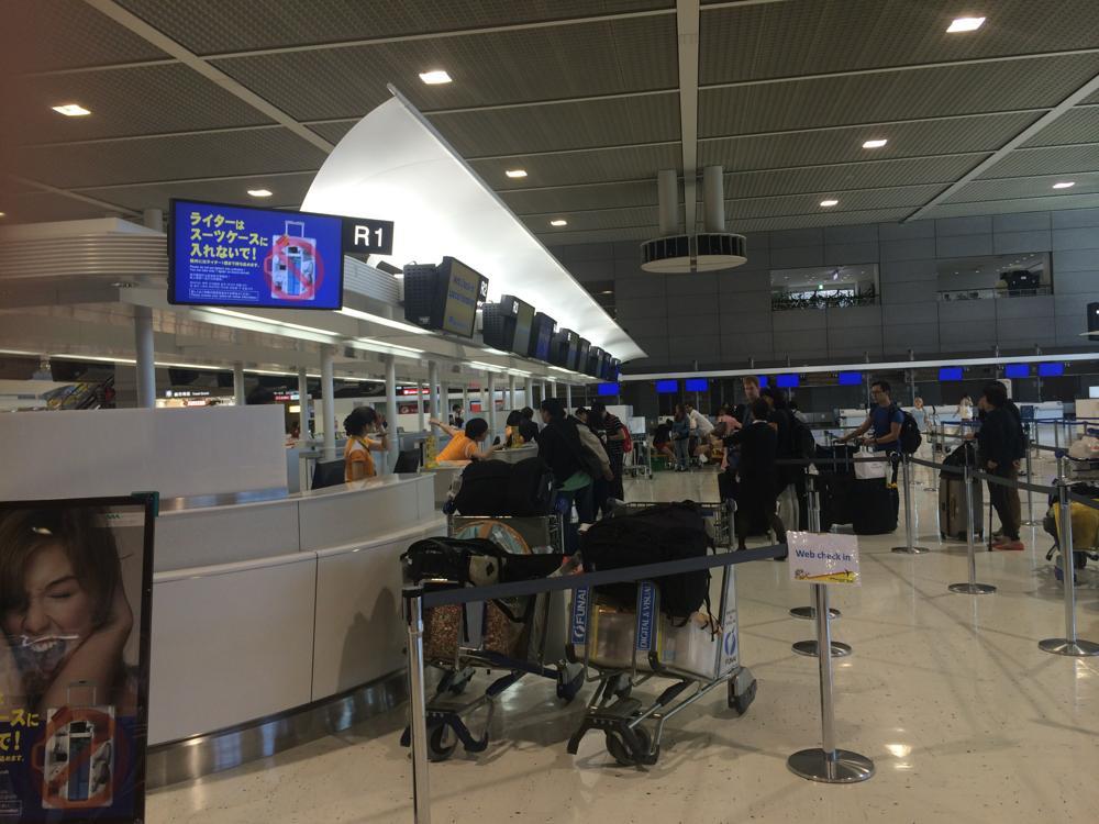出国手続きの様子 セブパシフィック航空「成田~フィリピン(マニラ)」の搭乗記レポート 5J505