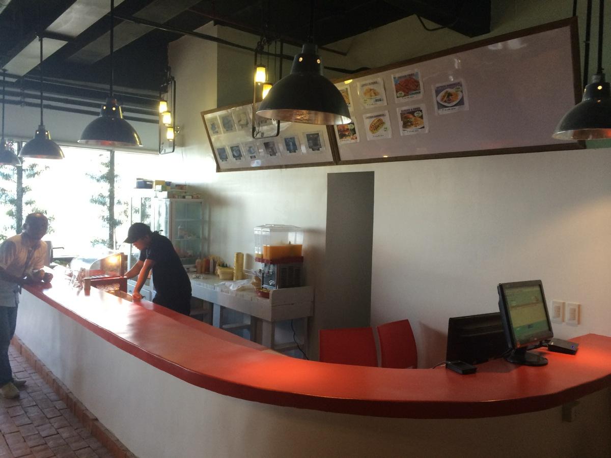10階のカフェ