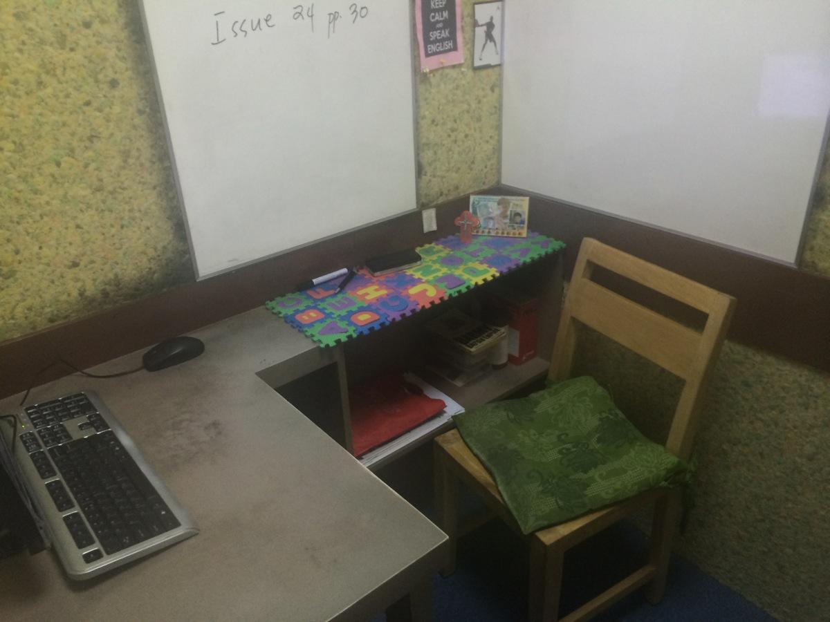 学校の7階の教室