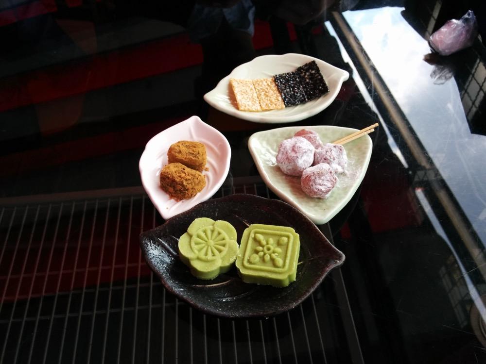 阿妹茶樓の茶菓子