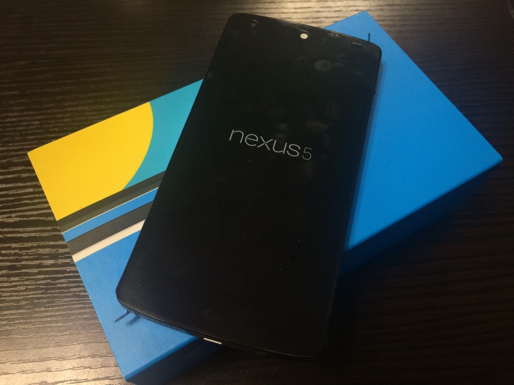 Nexus5を購入してみた!