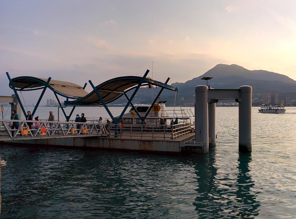 淡水の遊覧船