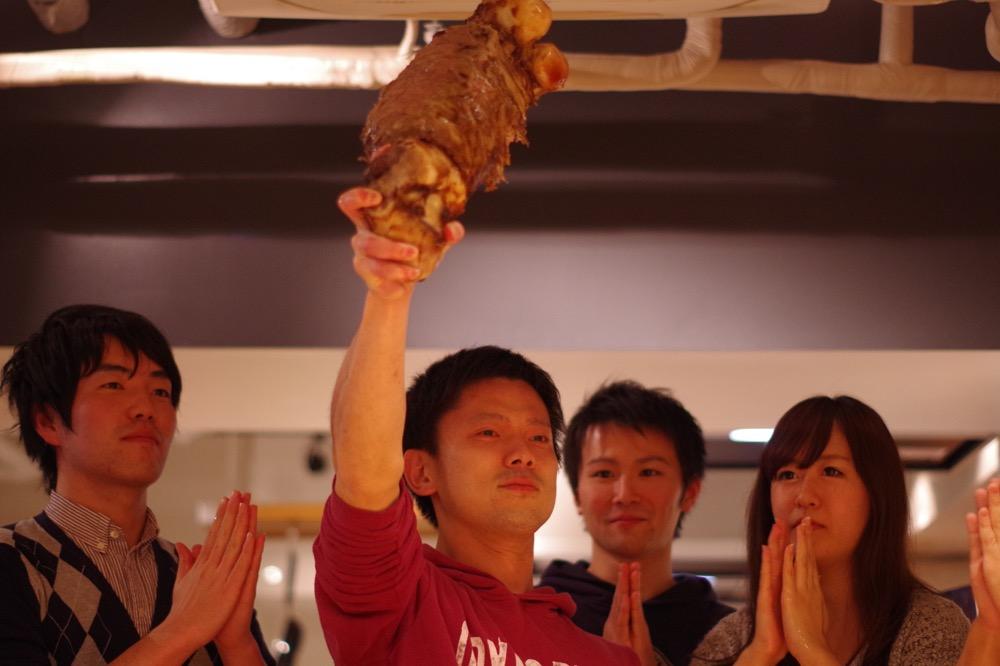 こんがり肉がウルトラ上手に焼けました〜!