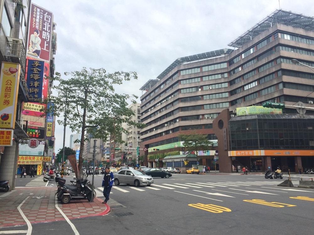 中正紀念堂駅周辺