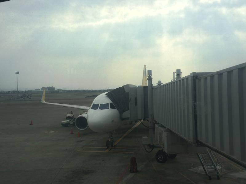 台湾に到着