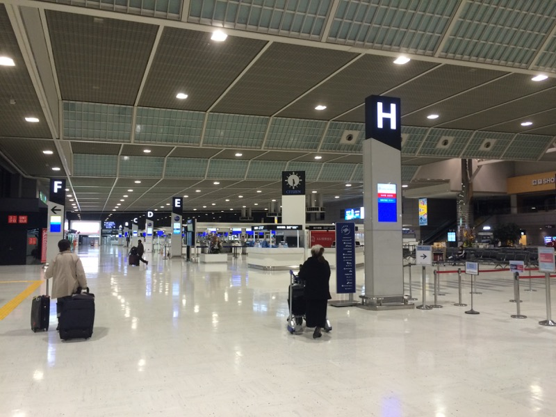 成田空港の第二ターミナル
