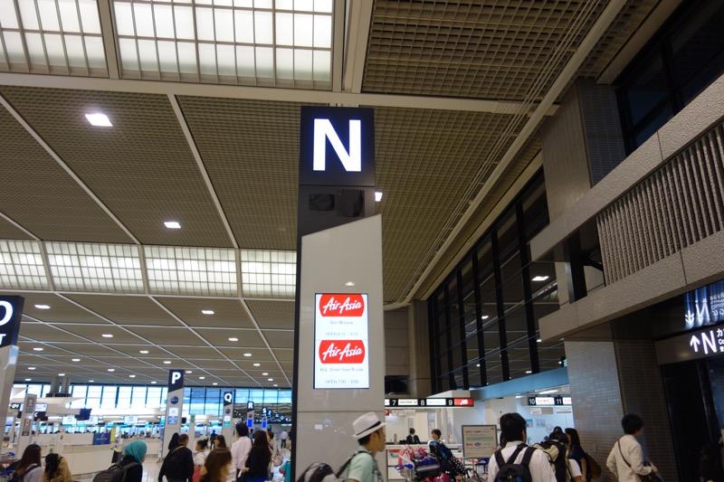 成田空港の第2ターミナル
