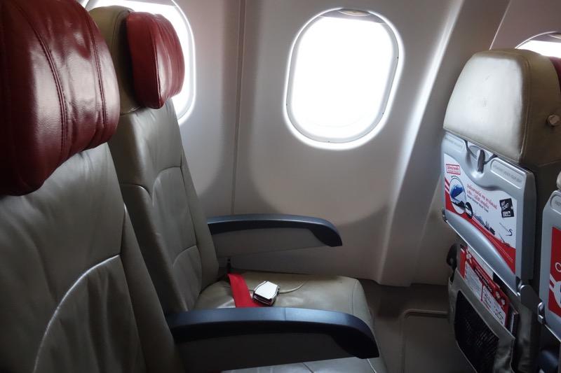 エアアジアの座席