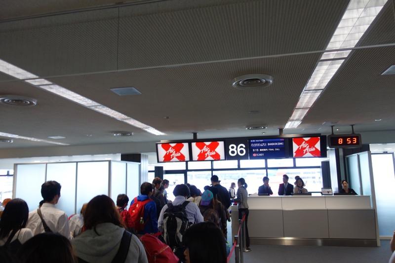 エアアジアへ搭乗!