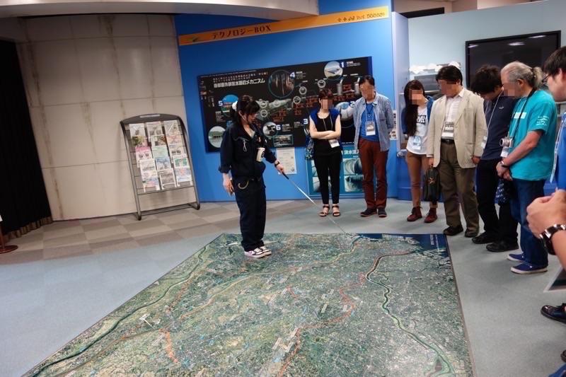 首都圏外郭放水路の説明