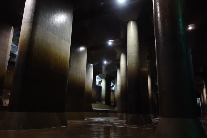 地下神殿が!
