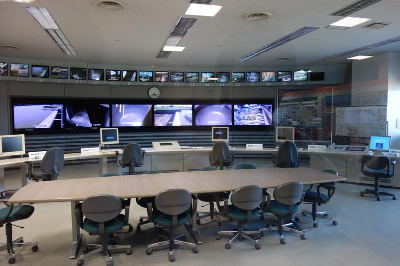 内部の制御室