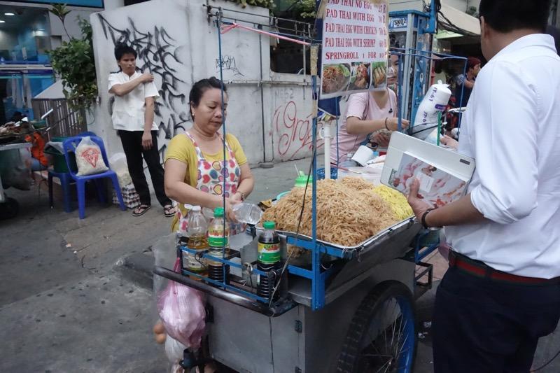 タイ料理で有名なパッタイ
