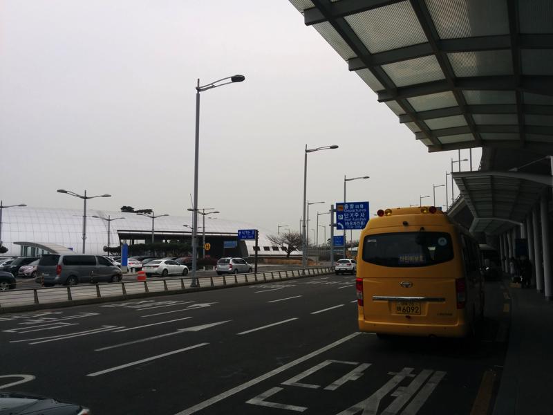 仁川国際空港の外