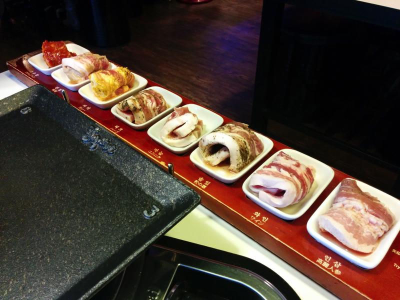 8種類の豚肉