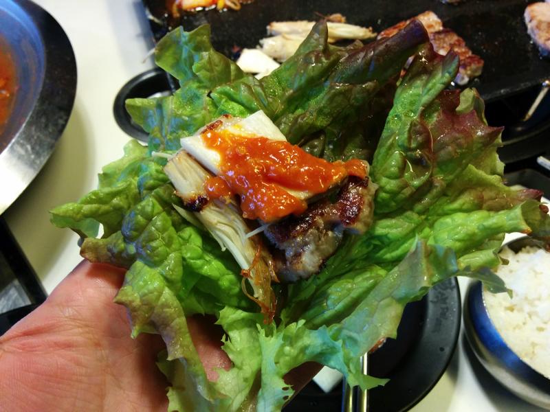 韓国のサムギョプサルは美味い!