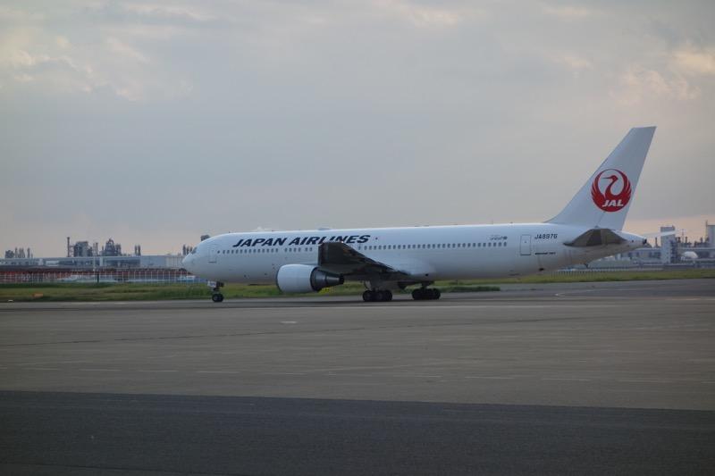 JALの離陸