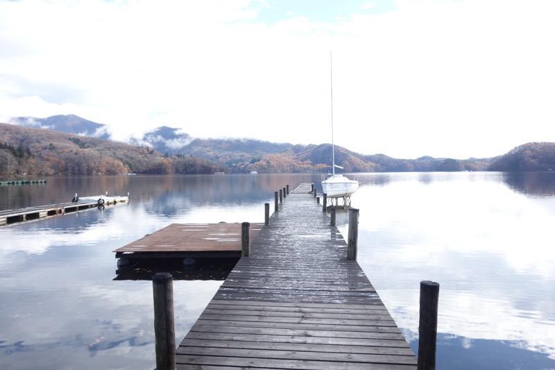 野尻湖の桟橋