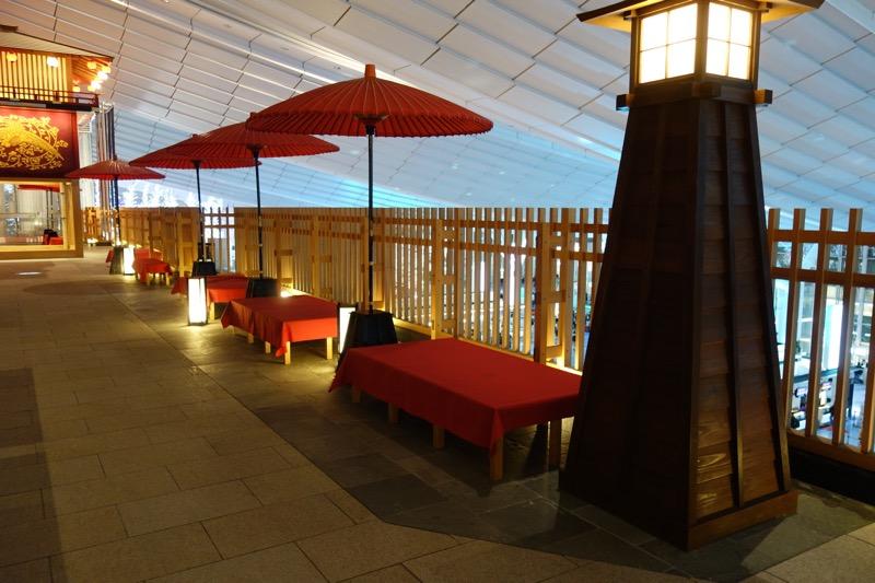 日本風の休憩施設
