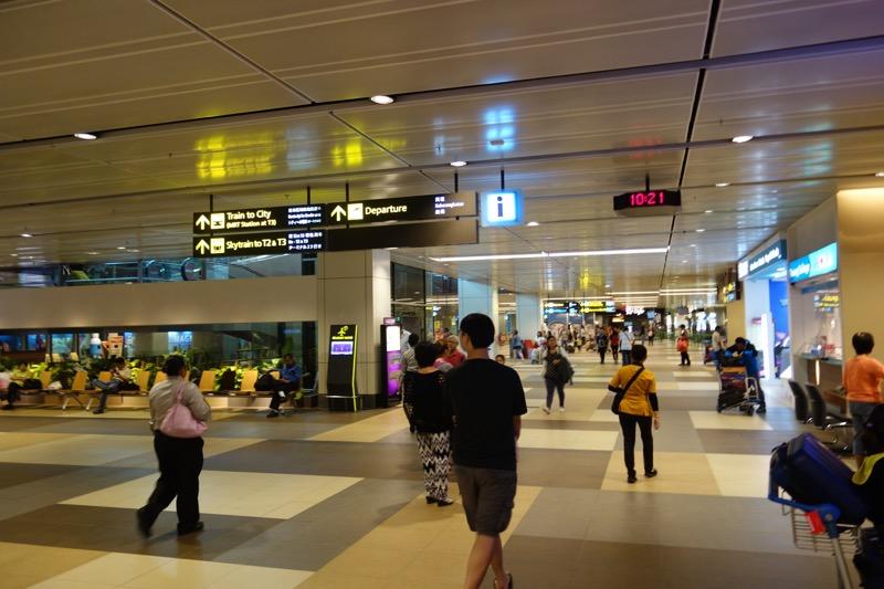 シンガポールへ入国