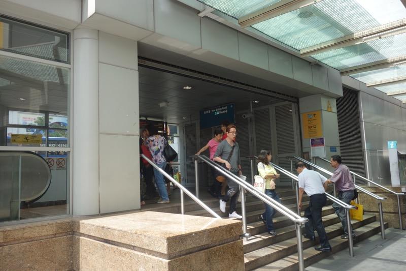 チャイナタウンの駅