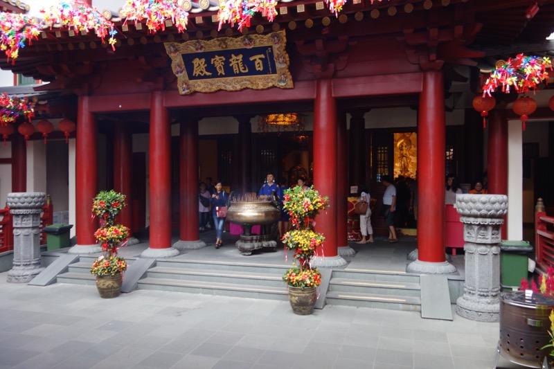 新加坡佛牙寺龍牙院の内部