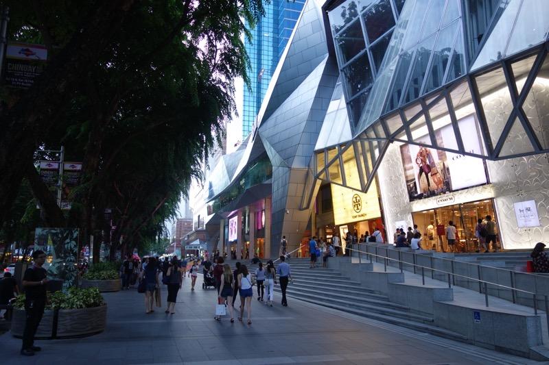 シンガポールのショッピング中心地