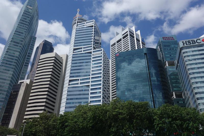 高層ビルがたくさん