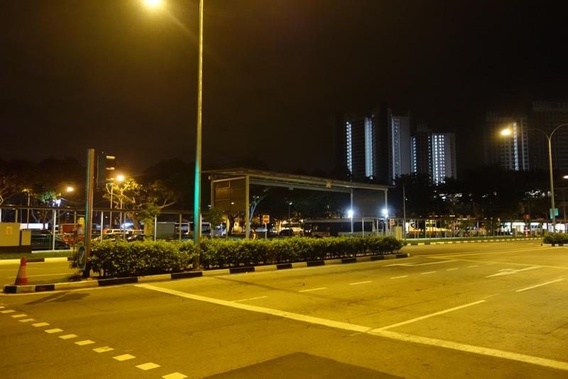 シンガポールの早朝