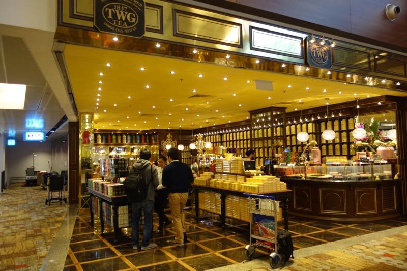 紅茶専門店のTWG