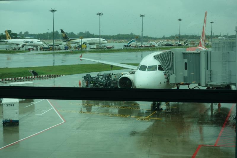エアアジアの飛行機