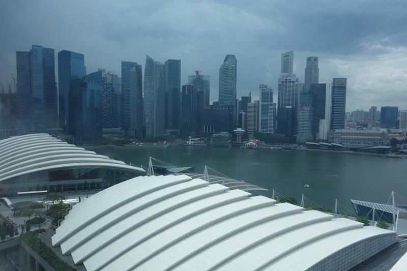 17階からの眺め
