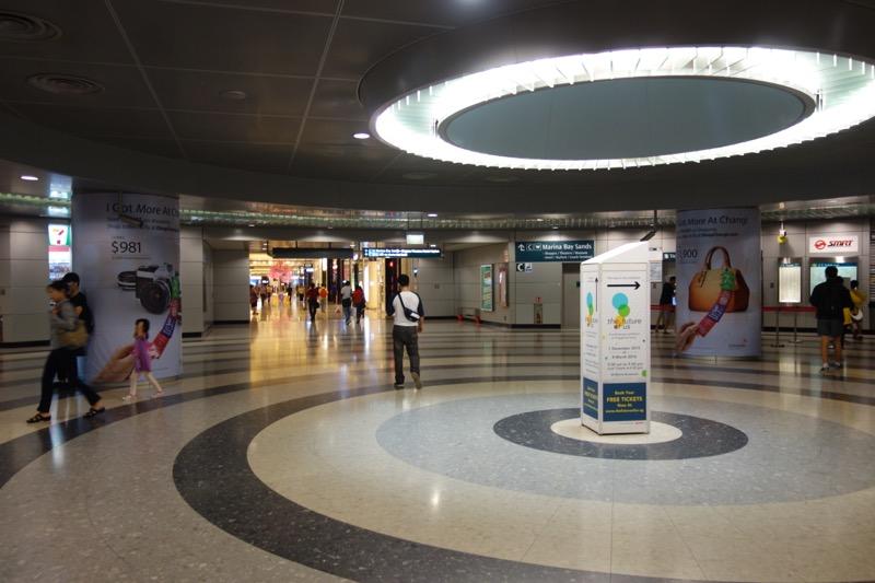 ベイフロント駅の改札
