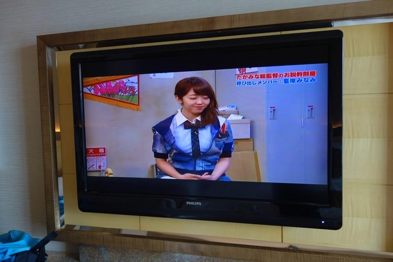 テレビは日本番組も見れる