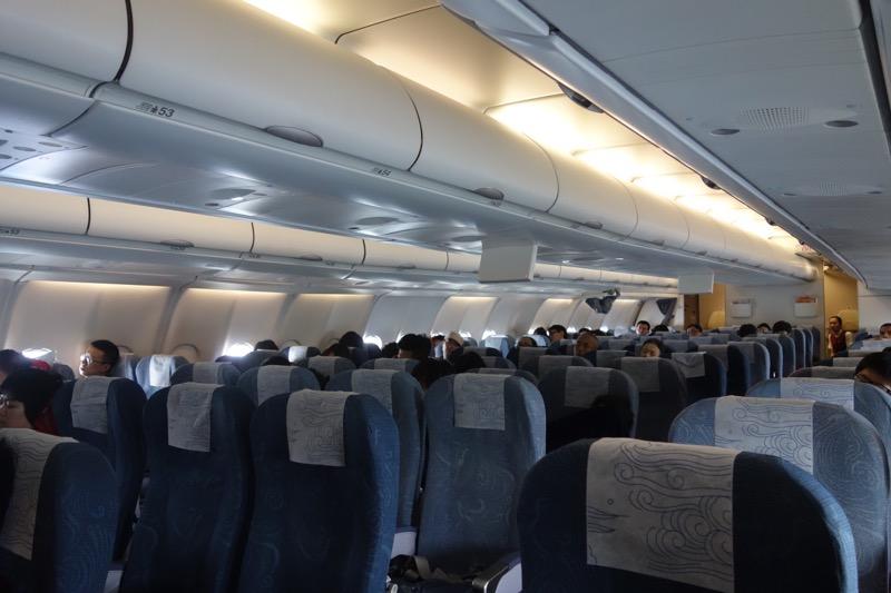 CA926 空席がけっこう多い