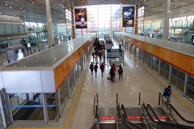 北京国際航空の専用モノレール