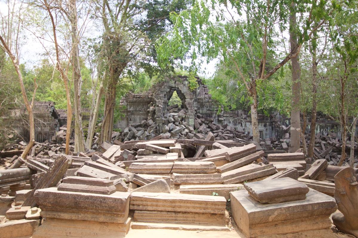 ベンメリア遺跡の正門