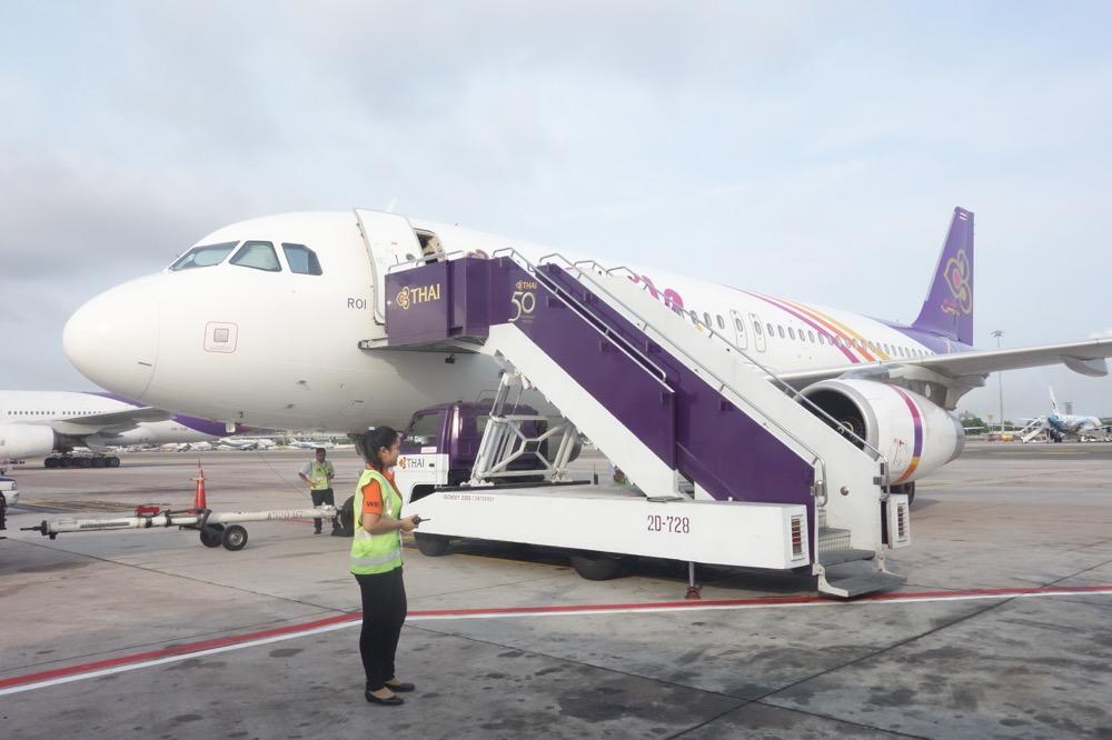 機体はA320