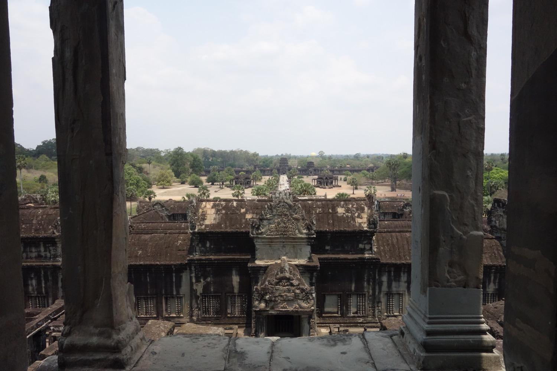 祠堂からの眺望