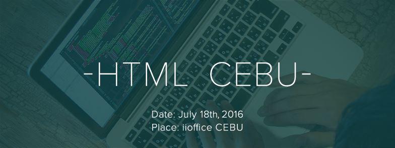 HTML CEBU Vol.1