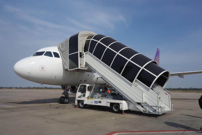タイスマイルの飛行機